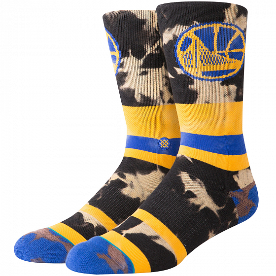Носки STANCE NBA ARENA WARRIORS ACID WASH FW19 от Stance в интернет магазине www.b-shop.ru - 1 фото